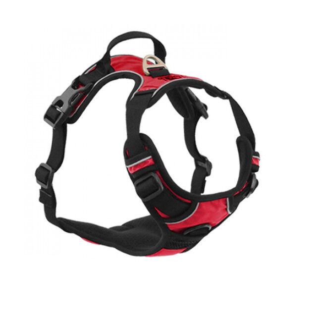 kn'1® harnais multifonction kn'1 active drive pour chien t1 rouge