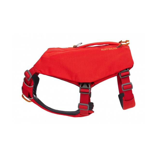 Ruffwear Harnais pour chien avec poches Switchbak Ruffwear Red Sumac - Taille L/XL