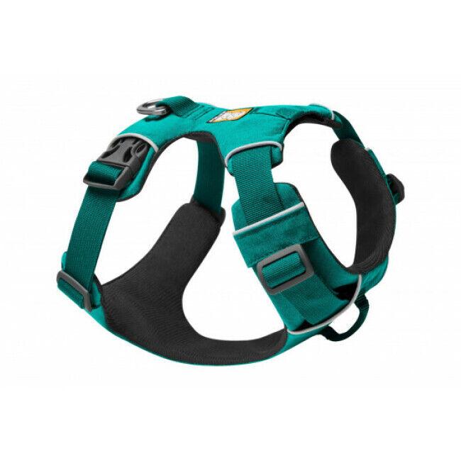 Ruffwear Harnais pour chien sport et promenade Front Range Ruffwear Aurora Teal - Taille M