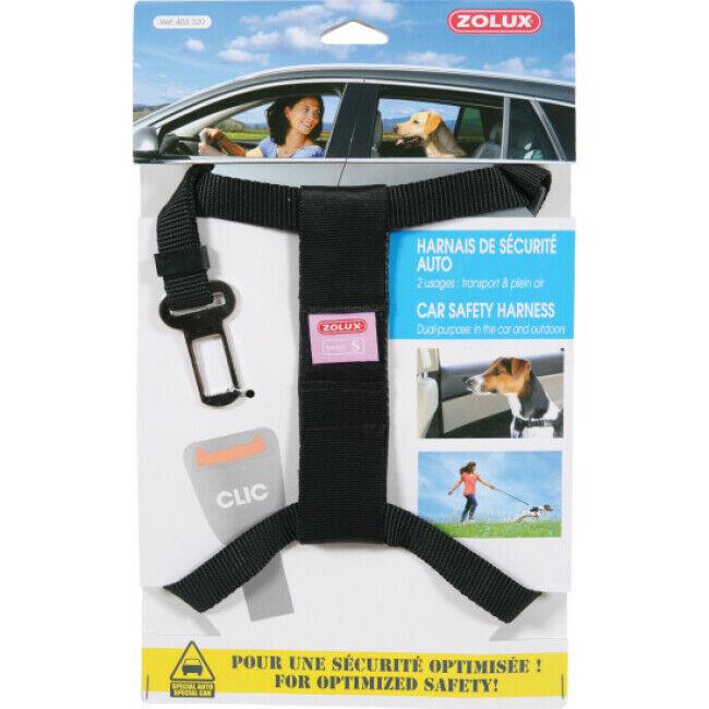 Zolux Harnais sécurité auto pour chien Taille S