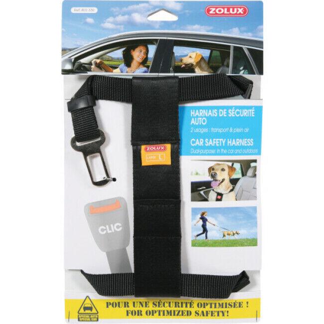 Zolux Harnais sécurité auto pour chien Taille L