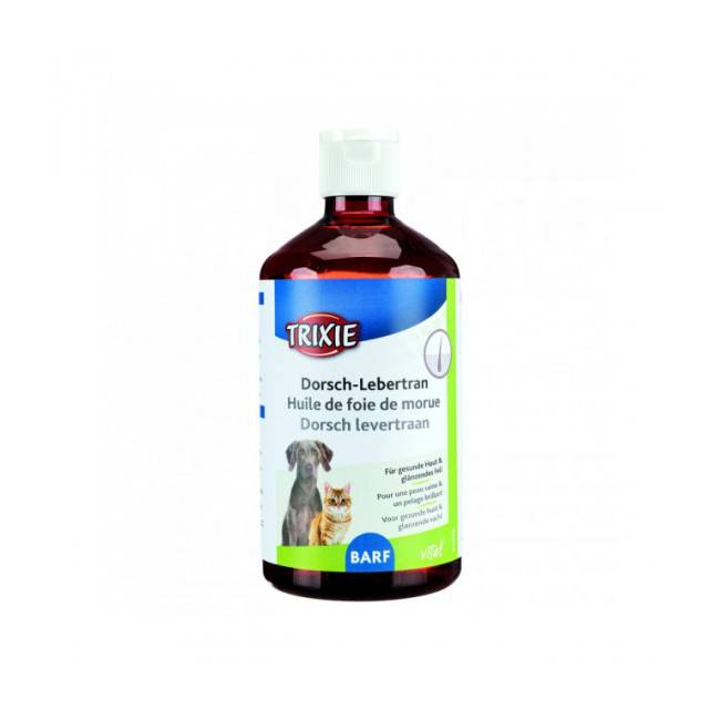 Trixie Huile de foie de morue pour chat et chien Trixie 250 ml