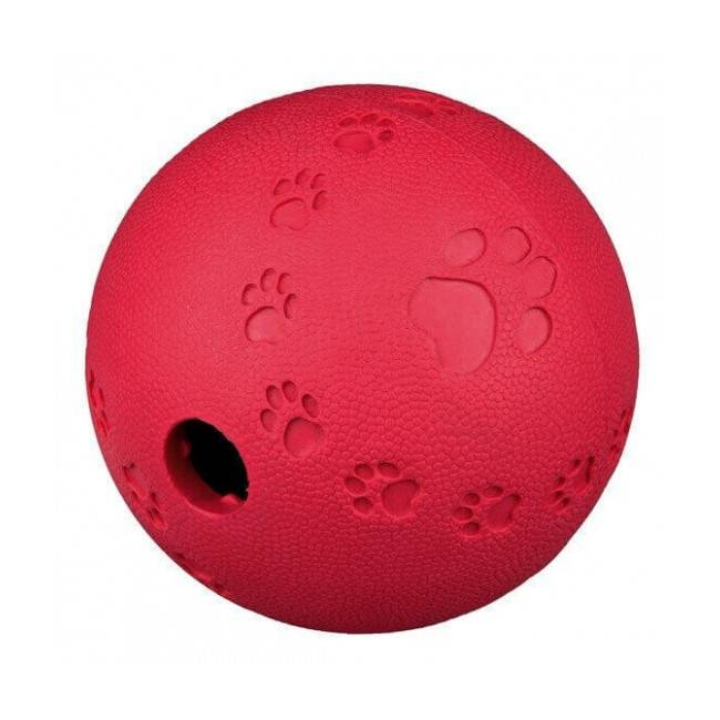 Trixie Jeu Snack Ball Activity en caoutchouc naturel pour chien Medium Ø 7 cm