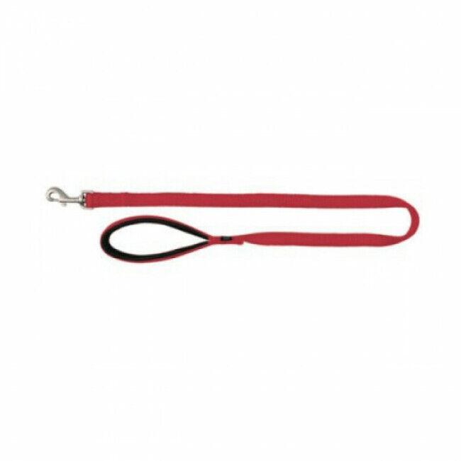Trixie Laisse pour chien nylon Premium Trixie rouge Taille XS Largeur 10 mm Longueur 1,20 m