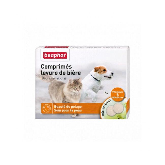 Beaphar Levure de bière pour chien et chat Beaphar Boîte de 100 comprimés
