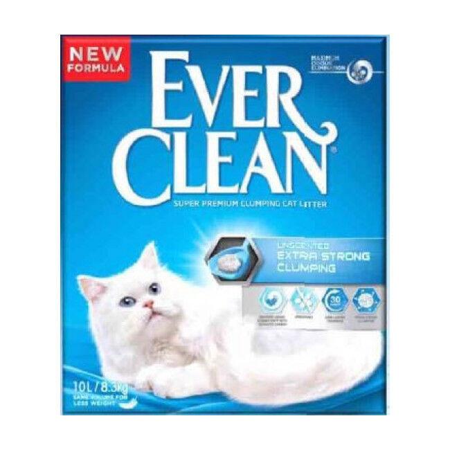 EverClean Litière pour chat Everclean Extra agglomérante 10 litres