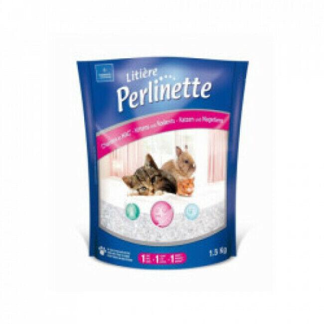 Perlinette Litière pour chaton et NAC Perlinette Sac 1,5 kg