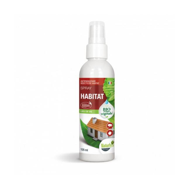Naturly's Lotion insecticide bio pour l'habitat Naturlys 125 ml