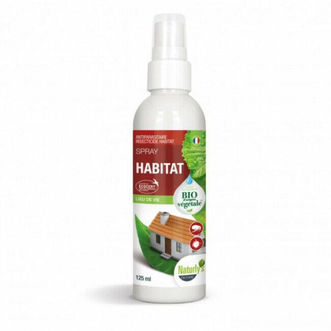 Naturlys Lotion insecticide bio pour l'habitat Naturlys 125 ml