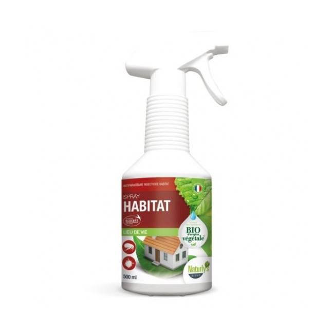 Naturly's Lotion insecticide bio pour l'habitat Naturlys Spray 500 ml