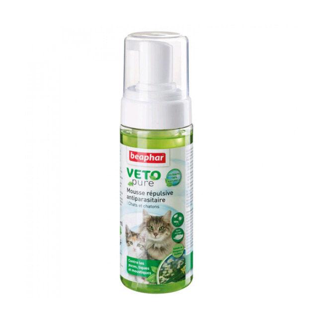 Beaphar Lotion moussante Veto-Nature insectifuge pour chien et chat