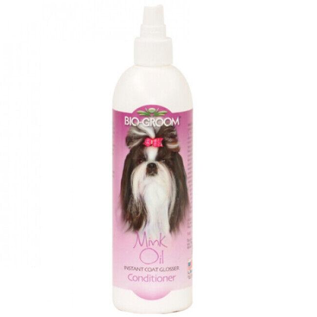 Bio Groom Lustrant Mink Oil spray pelage pour chien et chat