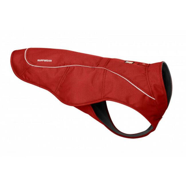 Ruffwear Manteau imperméable K-9 Overcoat pour chien Taille L Rouge Argile