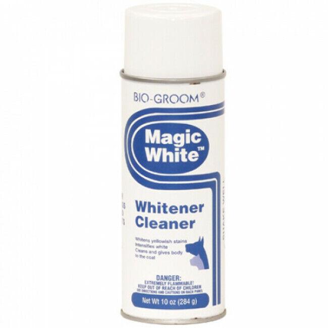 Bio Groom Nettoyant blanchissant Magic White pour pelage chien et chat