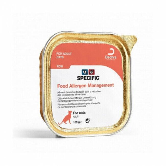 Specific Pâtée pour chat FDW Hypoallergénique Management Specific 7 barquettes de 100 g