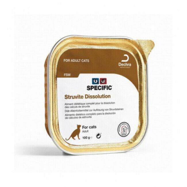 Specific Pâtée pour chat FSW Struvite Dissolution Specific 7 barquettes de 100 g