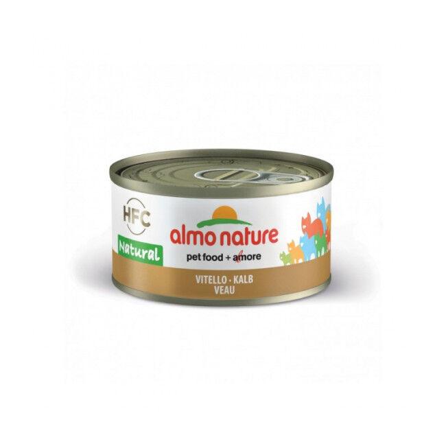 Almo Nature Pâtée pour chat Almo Nature HFC Natural 6 Boites 70 g Veau