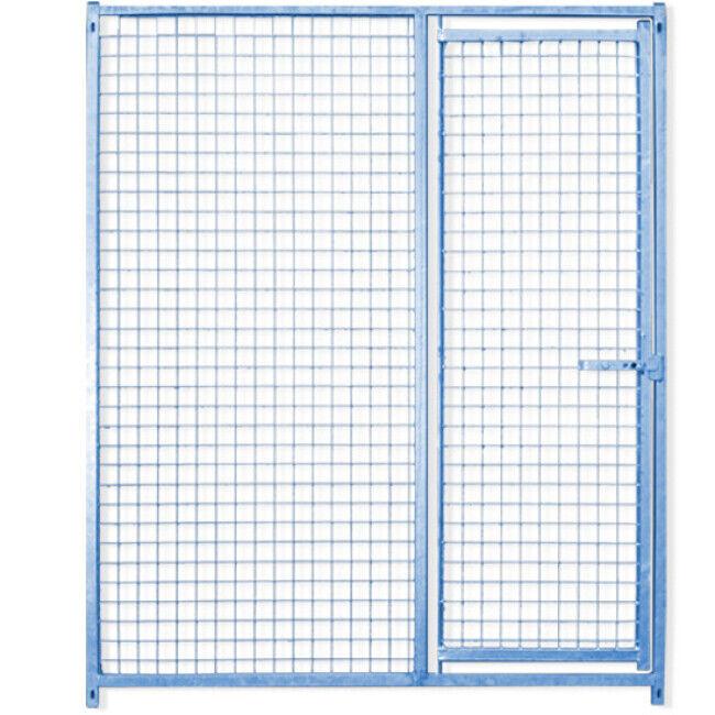 Canibox ® Panneau Pro maille grillage pour construire chenil ou chatterie en kit avec porte Lg 1,5 m