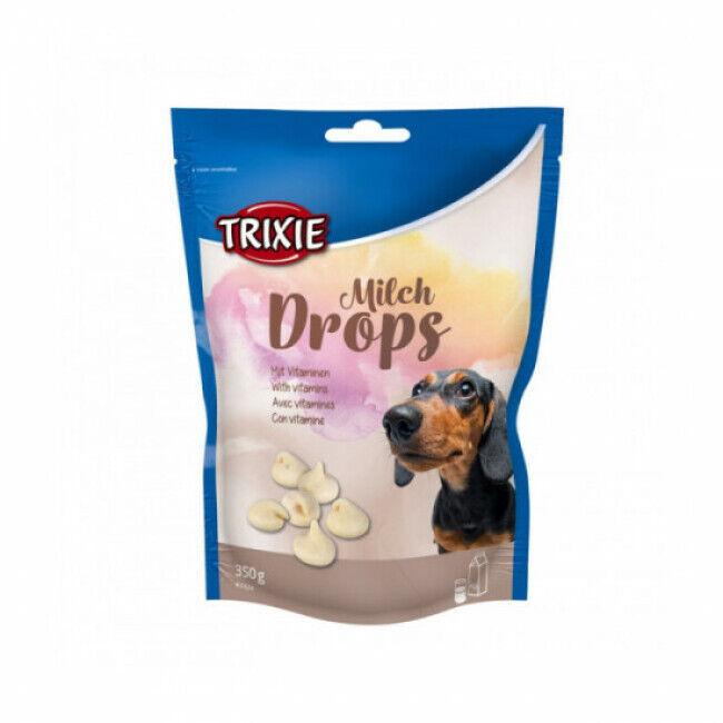 Trixie Friandises Drops lait pour chien sachet de 350 g