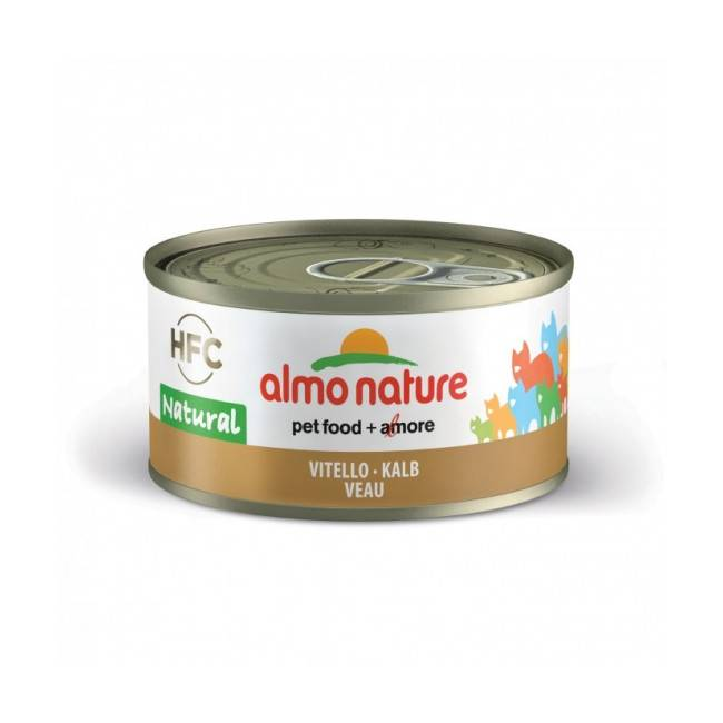 Almo Nature Pâtée pour chat Almo Nature HFC Natural - Lot de 6 x 70 g Poulet et Thon