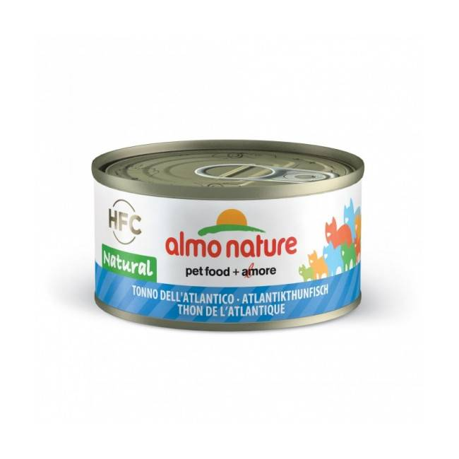 Almo Nature Pâtée pour chat Almo Nature HFC Natural - Lot de 6 x 70 g Thon de l'atlantique