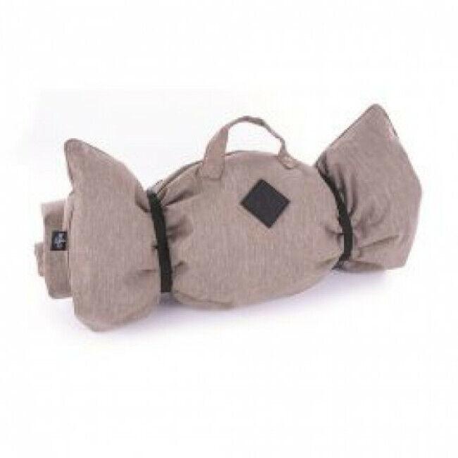 Martin Sellier Plaid pour canapé ou voiture Croisette pour chien Coloris Beige - 115 x 70 cm