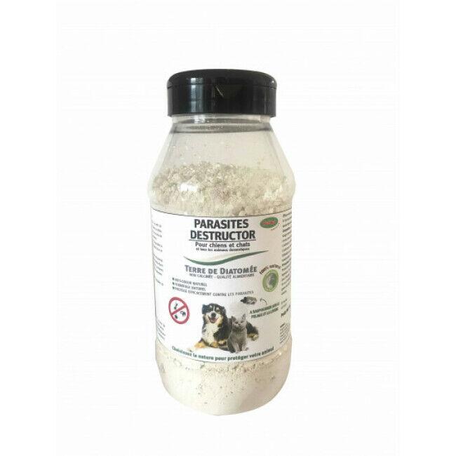 Bubimex Poudre antiparasitaire à la terre de diatomée 300 g