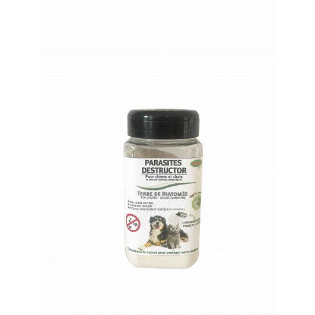 Bubimex Poudre antiparasitaire à la terre de diatomée 120 g