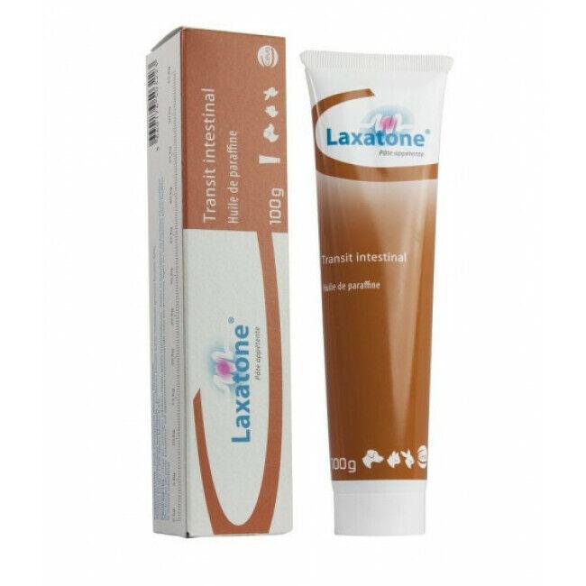 Laxatone Pâte orale pour chien et chat à l'huile de paraffine Laxatone tube 100 g