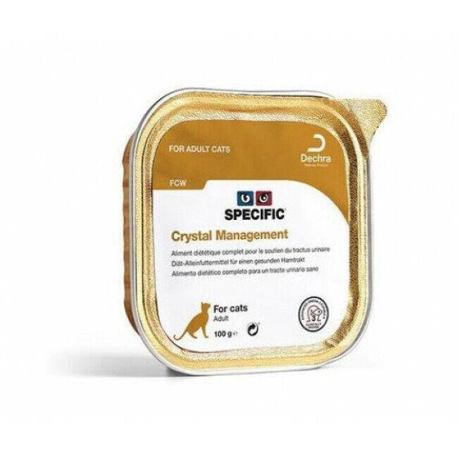 Specific Pâtée pour chat FCW Crystal Prevention Specific 7 barquettes de 100 g