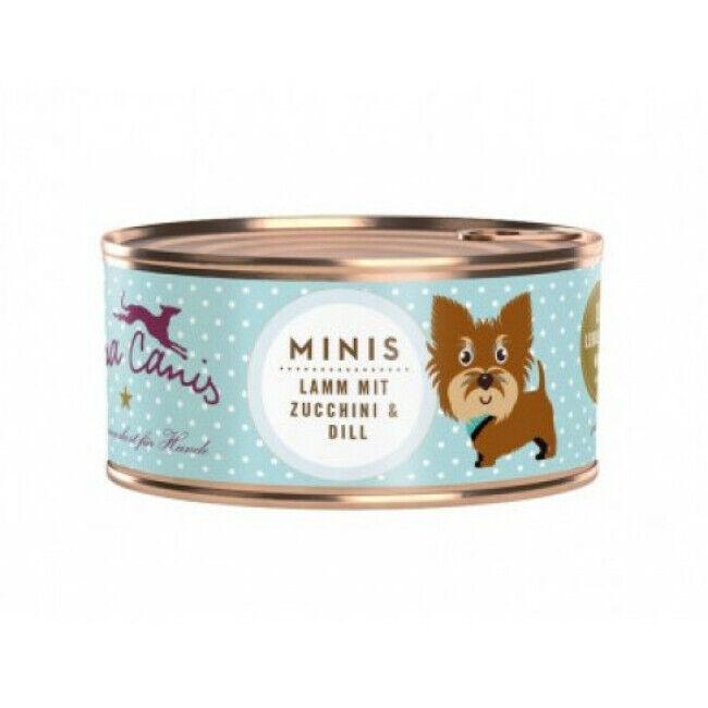 Terra Canis Pâtée sans céréales Terra Canis Mini pour petit chien à l'agneau - Boîte 100 g