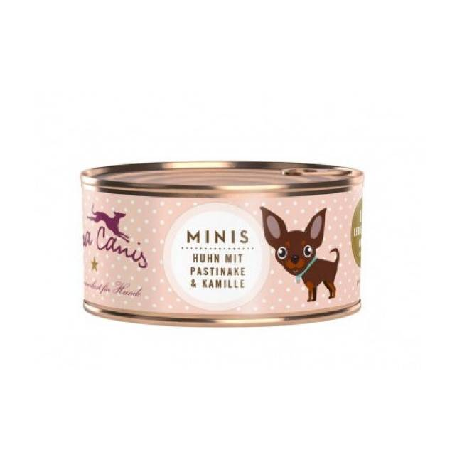 Terra Canis Pâtée sans céréales Terra Canis Mini pour petit chien au poulet - Boîte 100 g