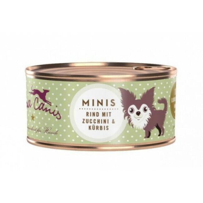 Terra Canis Pâtée sans céréales Terra Canis Mini pour petit chien au boeuf - Boîte 100 g