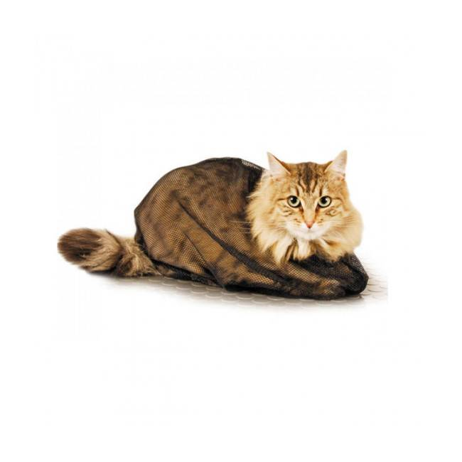 Difac Sac filet de toilettage standard et soin pour chat Small/Medium chat jusqu'à 4.5 kg