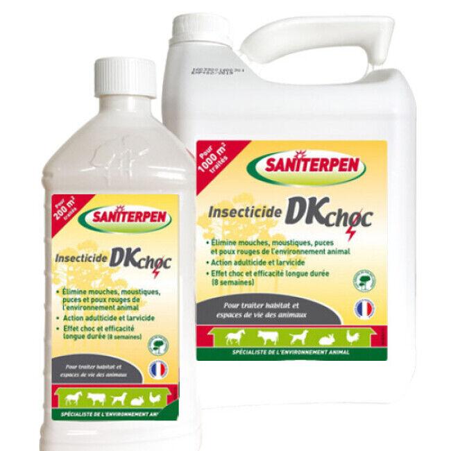 Saniterpen Insecticide pour élevage animaux Saniterpen DK Pro 1 litre