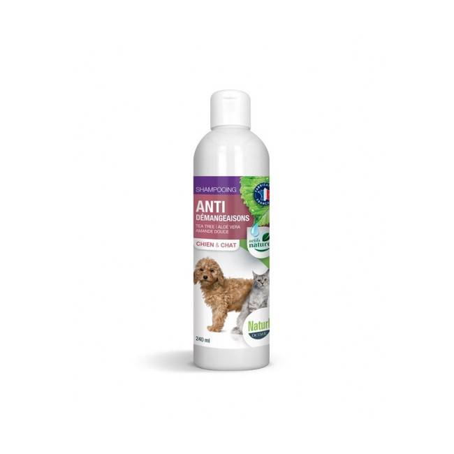 Naturlys Shampoing anti-gratte pour chien et chat Bio Naturlys 240 ml