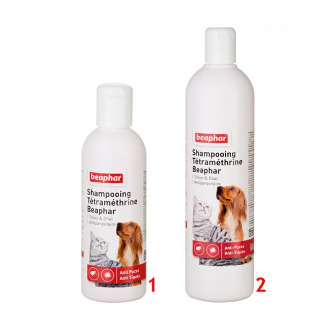 Beaphar Shampoing anti-puces Beaphar pour chien et chat 200 ml