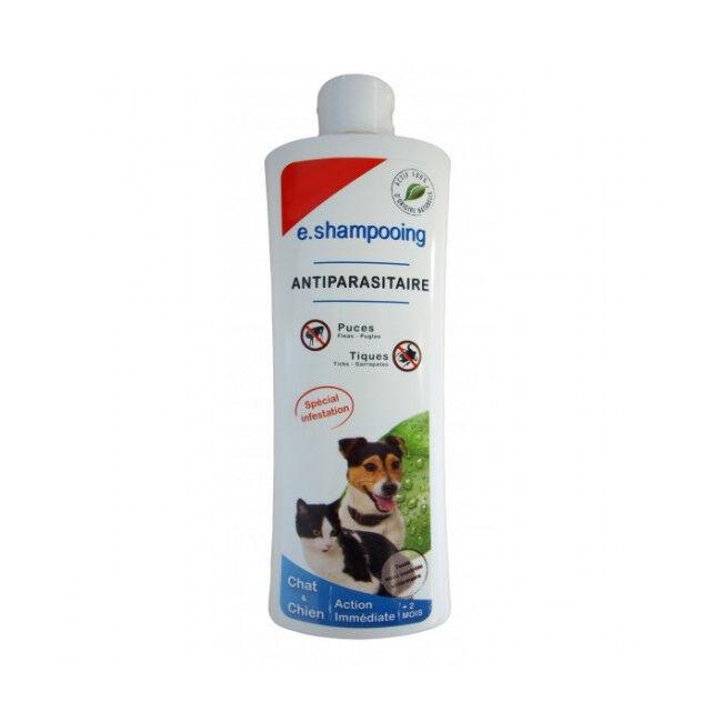 Agecom Shampoing antiparasitaire 2 en 1 pour chien et chat Agecom flacon de 250 ml