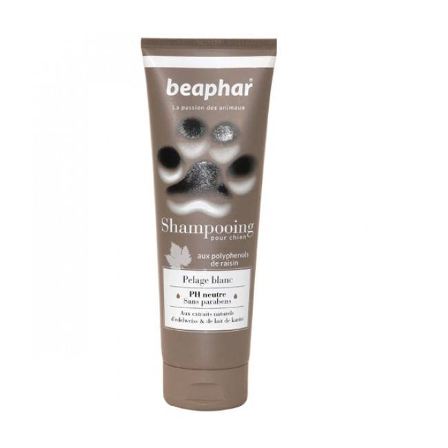 Beaphar Shampoing colorant pelage blanc Empreinte de Béaphar pour chien