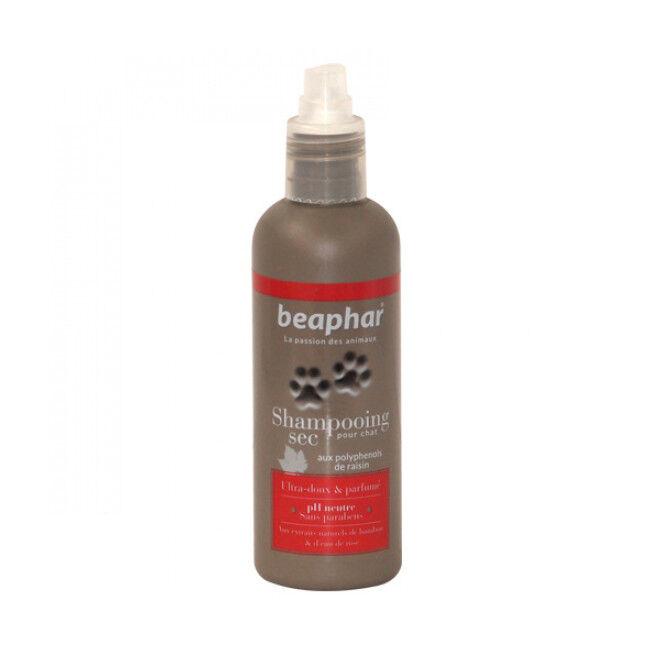 Beaphar Shampoing hydratant de peau sèche eau de rose et bambou Empreinte de Béaphar pour chat et chaton
