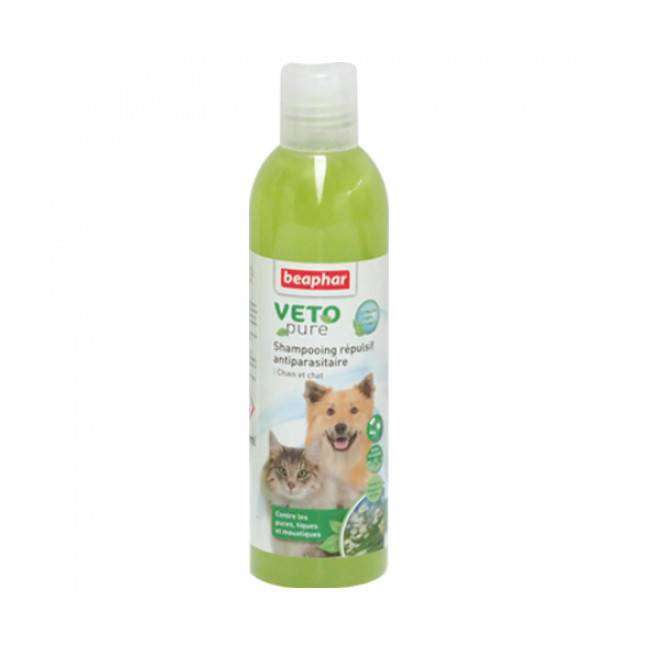 Beaphar Shampoing insectifuge Véto Pure Beaphar pour chien et chat 250 ml