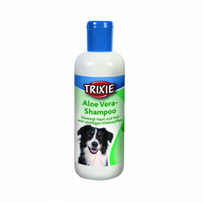 Trixie Shampoing peau sensible à l'aloe vera pour chien Trixie