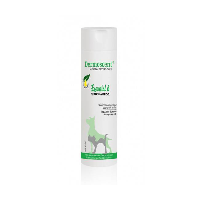 Dermoscent Shampoing pour chien et chat Essential 6 Sebo Dermoscent flacon de 200 ml
