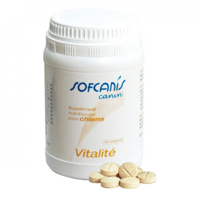 Sofcanis Complément alimentaire pour chien Sofcanis vitalité 100 comprimés