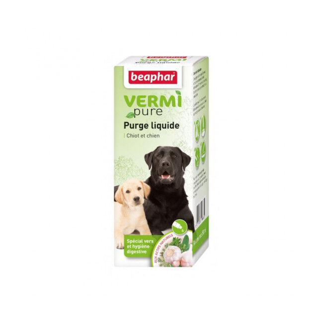Beaphar Solution de purge Vetonature aux plantes pour chien Beaphar flacon de 50 ml (DLUO 6 mois) (DLUO 6 mois)