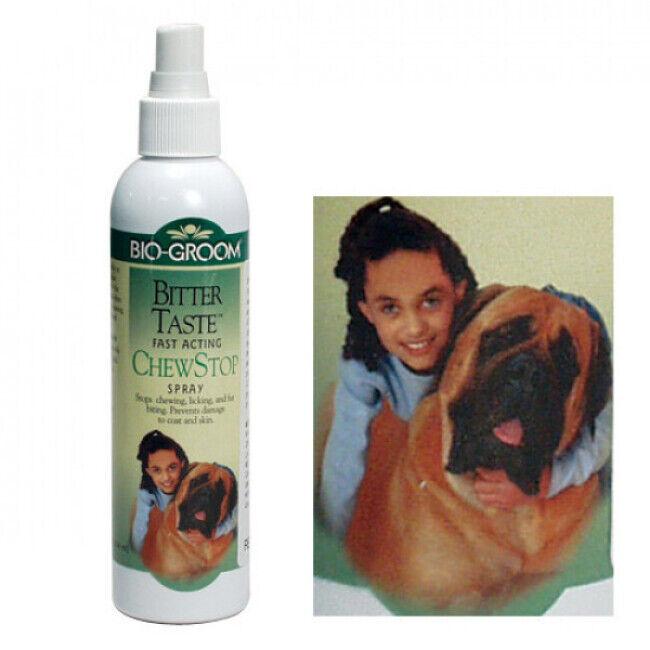 Bio Groom Spray anti mordillage pour chien et chat