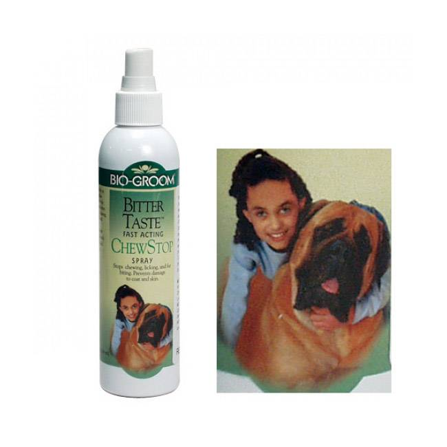 Bio Groom Spray anti mordillage pour chien et chat
