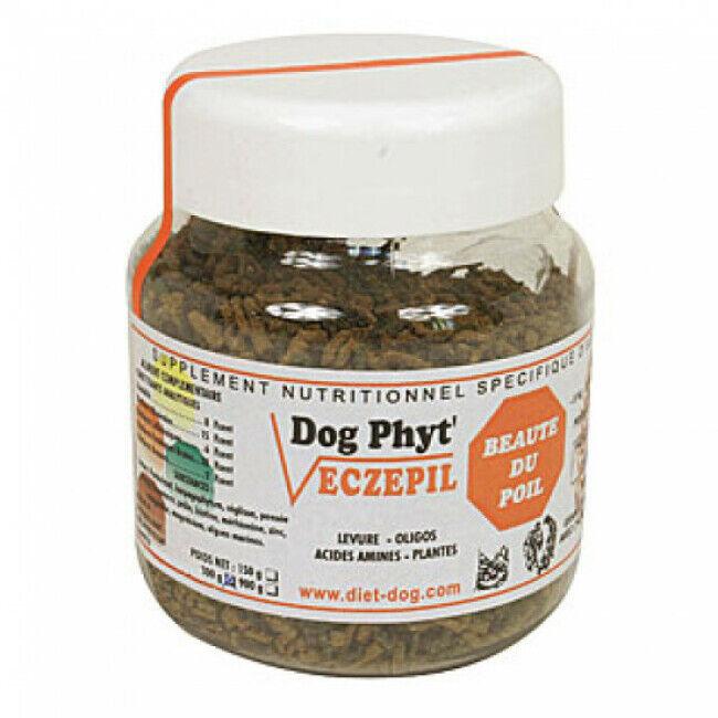 Diet Dog Supplément nutritionnel beauté du pelage pour chien Eczepil Diet Dog 300 g (Fin de DLUO)