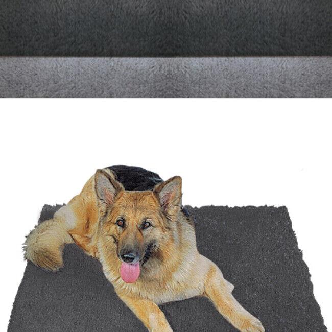 Poly-Bed ® Tapis éleveur anti-dérapant Poly-Bed ® Grip gris clair (1m x 1.5m)