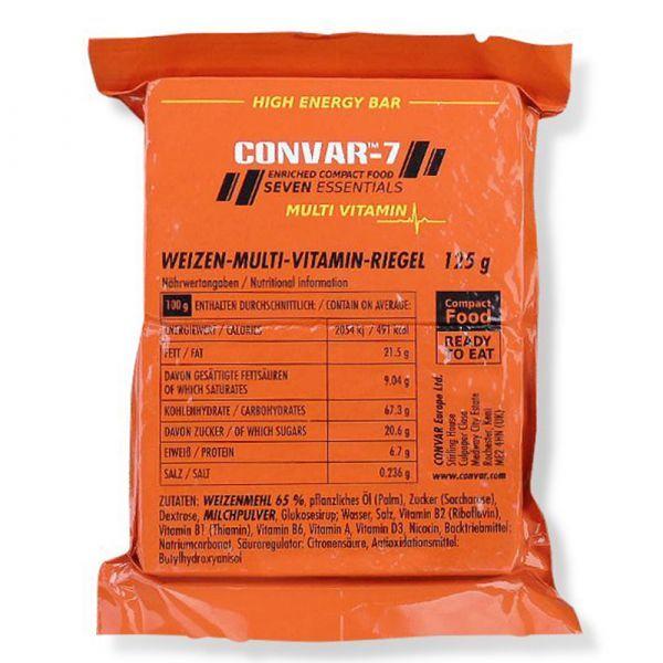 Convar-7 Barre énergétique multi-vitamines 108 pièces